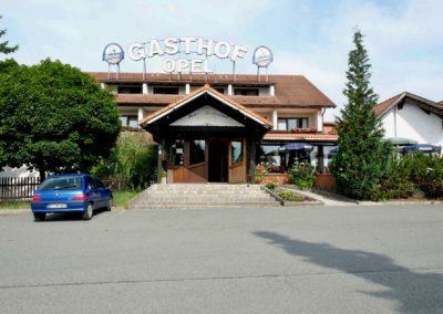 Gasthof-Opel-Himmelkron-A9-Frontansicht